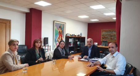 Στον Δήμαρχο Αλμυροί οι δικαστικοί υπάλληλοι του Πρωτοδικείου Βόλου