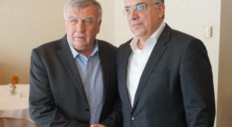 Τον Υπουργό Εσωτερικών Τάκη Θεοδωρικάκο συνάντησε ο Πρόεδρος της ΠΕΔ Θεσσαλίας Θανάσης Νασιακόπουλος