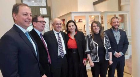 Ο Αλέξανδρος Μεϊκόπουλος σε συνάντηση με τον Πρέσβη του Ισραήλ Yossi Amrani