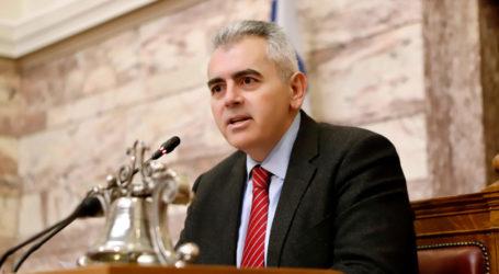 Χαρακόπουλος: Να αποτραπεί η πιθανότητα οριστικής απώλειας ενισχύσεων
