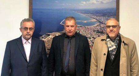 Εθιμοτυπική επίσκεψη αντιπροσωπείας της Τοπικής Κοινότητας Κραννώνος στην Πρυτανεία του Πανεπιστημίου Κρήτης