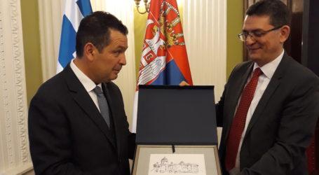 Στο Βελιγράδι ο Χρήστος Μπουκώρος –Συνάντηση με τον αντιπρόεδρο του Σερβικού Κοινοβουλίου