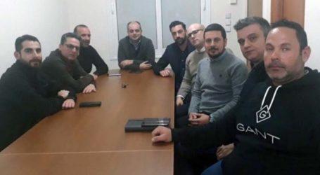 Συνάντηση Καπετάνου με τον Γεωπονικό Σύλλογο Λάρισας