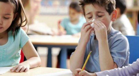 Χαμός στα σχολεία του Βόλου λόγω γρίπης! Τι γίνεται με τις απουσίες των μαθητών;