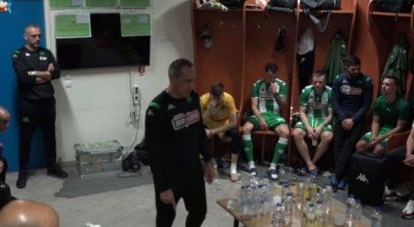 Το «πράσινο» πάρτι επί του ΠΑΟΚ και η ομιλία του Δώνη (video) – Ποδόσφαιρο – Super League 1 – Π.Α.Ο.Κ.