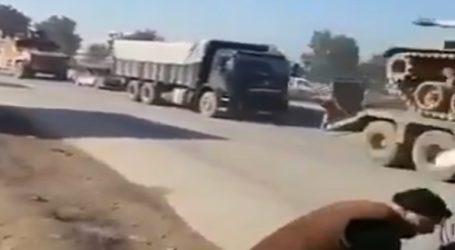 Ο τουρκικός στρατός εισβάλει στο Ιντλίμπ