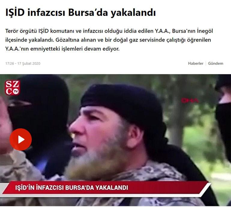 Το πρωτοσέλιδο άρθρο της τουρκικής εφημερίδας Sozcu