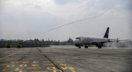 Πρώτη πτήση μετά από οκτώ χρόνια στο αεροδρόμιο του Χαλεπιού