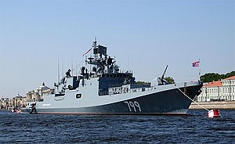 Η φρεγάτα «Ναύαρχος Makarov»