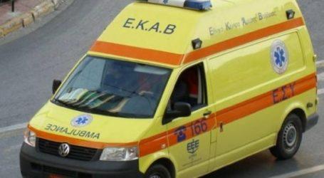 Βόλος: Νεκρός 55χρονος σε τροχαίο δυστύχημα