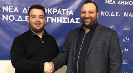 Νέος Πρόεδρος ΟΝΝΕΔ Βόλου ο Δημήτρης Χατζής
