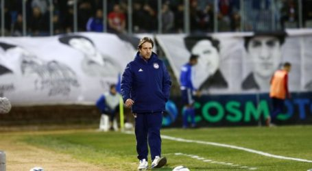 Mε 4-4-2 και Ραντζέλοβιτς δεξί μπακ κόντρα στον Πανιώνιο – Ποδόσφαιρο – Super League 1 – Ολυμπιακός