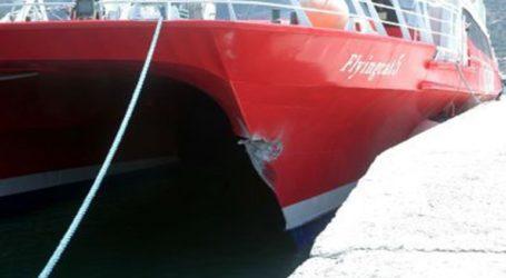 Μηχανική βλάβη παρουσίασε εν πλω ταχύπλοο επιβατηγό