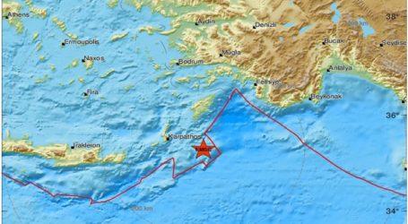 Σεισμός 4,2 Ρίχτερ στα Δωδεκάνησα