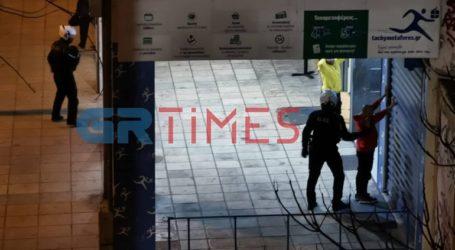 Νέα συμπλοκή αλλοδαπών στη Θεσσαλονίκη με προσαγωγές