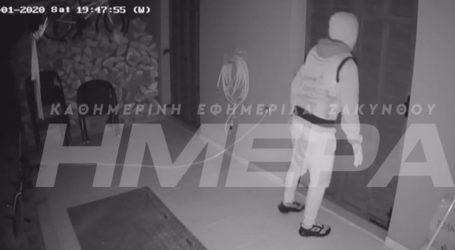 Βίντεο ντοκουμέντο από απόπειρα διάρρηξης σε σπίτι επιχειρηματία