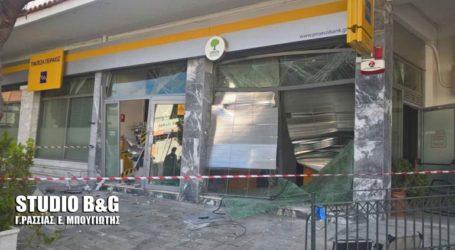 Άγνωστοι δράστες ανατίναξαν ΑΤΜ στο Λυγουριό Αργολίδας