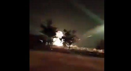 Τη νύχτα μέρα κάνουν τα πυρά από τα πολυβόλα