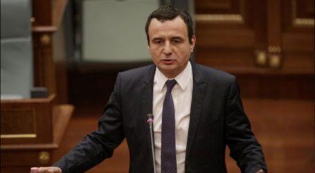 Έλαβε ψήφο εμπιστοσύνης η κυβέρνηση του Άλμπιν Κούρτι