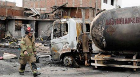 Στους 23 οι νεκροί από έκρηξη βυτιοφόρου στο Περού
