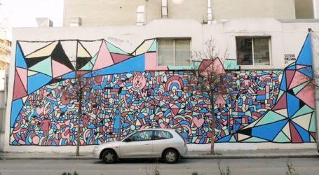 Τοιχογραφία του ΟΗΕ στη Θεσσαλονίκη για την Παγκόσμια Ημέρα κατά του καρκίνου