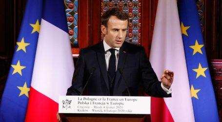 Ο Μακρόν κάλεσε την Πολωνία να ενταχθεί πλήρως στο «πολιτικό σχέδιο» της Ευρώπης