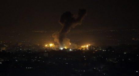 Αεροπορικοί βομβαρδισμοί στη Λωρίδα της Γάζας