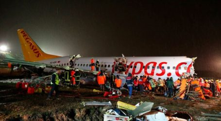 Τρεις νεκροί και 179 τραυματίες από το αεροπορικό δυστύχημα