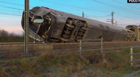 Δύο νεκροί και τραυματίες σε εκτροχιασμό τρένου στο Μιλάνο