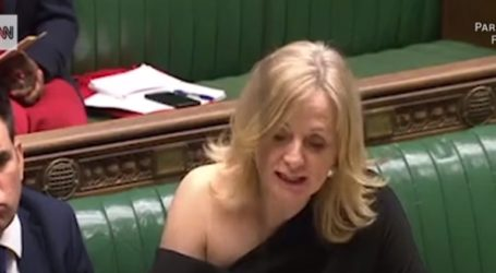 «Σκανδάλισε» με την εμφάνισή της Βρετανίδα βουλευτής