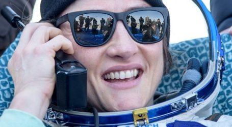 Επιστροφή στη Γη για την αστροναύτη της NASA Κριστίνα Κόουκ