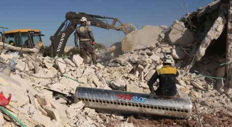 Η Ε.Ε. καλεί να τερματισθούν οι βομβαρδισμοί στην Ιντλίμπ