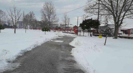 Κλειστά τα σχολεία στο Οροπέδιο Λασιθίου λόγω χιονόπτωσης