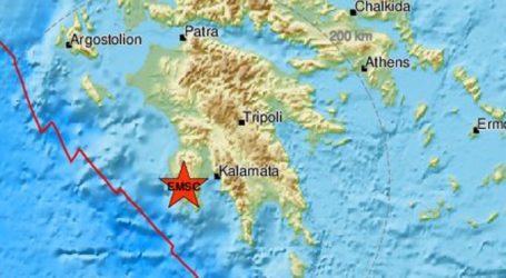 Σεισμός 3,4 Ρίχτερ στην Πύλο