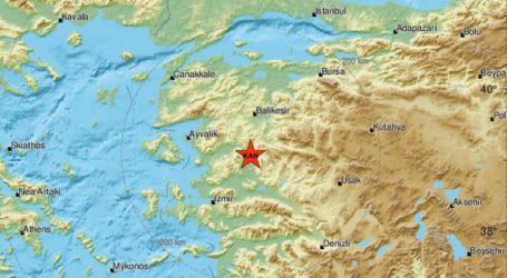 Σεισμική δόνηση 3,6R στη δυτική Τουρκία
