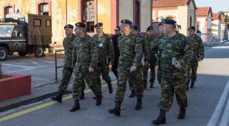 Ο Αρχηγός του ΓΕΣ στην έδρα του Γ΄ Σώματος Στρατού