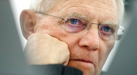 Ανησυχία για το CDU εκφράζει ο Βόλφγκανγκ Σόιμπλε
