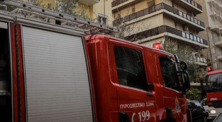Πυρκαγιά σε αποθήκη στη Θεσσαλονίκη