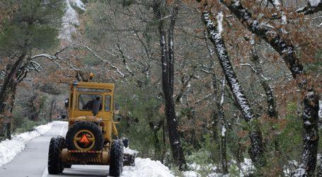 Αποκατάσταση κυκλοφορίας οχημάτων στη λεωφόρο Πάρνηθος