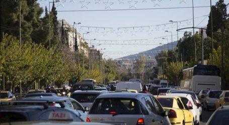 Με δυσκολία η κυκλοφορία στη λεωφόρο Κατεχάκη λόγω θραύσης αγωγού
