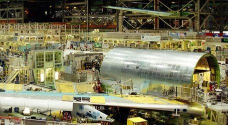 Πτώση της βιομηχανικής παραγωγής τον Ιανουάριο λόγω… Boeing