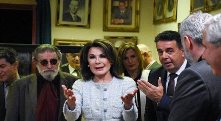 Από το Ναύπλιο άρχισε τις επαφές της με τους δήμους η πρόεδρος της «Ελλάδα 2021» Γιάννα Αγγελοπούλου