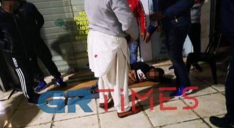 Αιματηρή ληστεία και συμπλοκή μεταξύ αλλοδαπών στο κέντρο της Θεσσαλονίκης