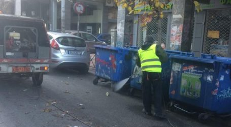 Στο Παγκράτι η Κυριακάτικη παρέμβαση καθαριότητας του Δήμου Αθηναίων
