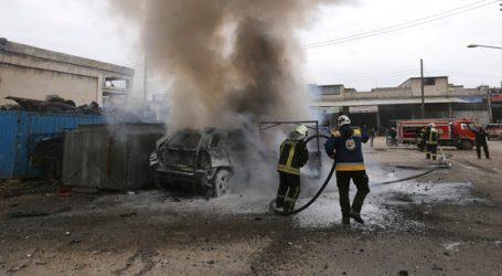 Έκρηξη παγιδευμένου αυτοκινήτου κοντά στα σύνορα Συρίας-Τουρκίας