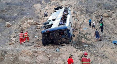 Έντεκα νεκροί έπειτα από πτώση λεωφορείου σε χαράδρα