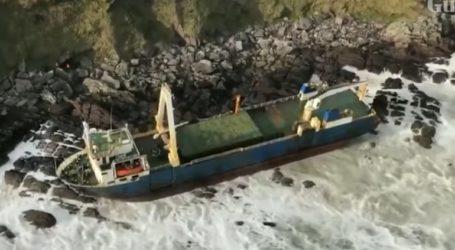 Στα βράχια της Ιρλανδίας εντοπίστηκε πλοίο – φάντασμα