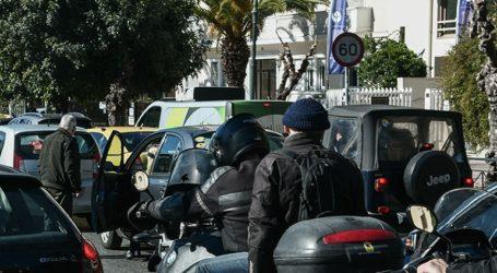 Αποκαταστάθηκε η κυκλοφορία των οχημάτων σε δρόμους της Αθήνας