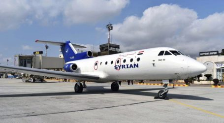 Επαναλειτούργησε για πρώτη φορά μετά το 2012 το αεροδρόμιο του Χαλεπιού