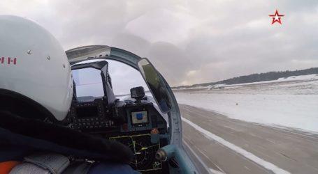 Ασκήσεις βομβαρδισμού από ρώσικα Su-35S